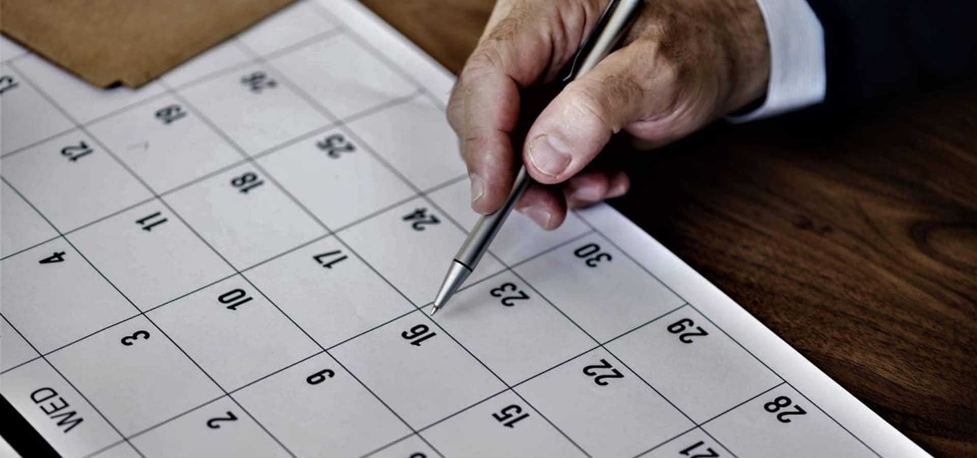 Calendário Fical - SROC - Sociedade de Revisores e Auditores Ribeiro da Cunha Associados