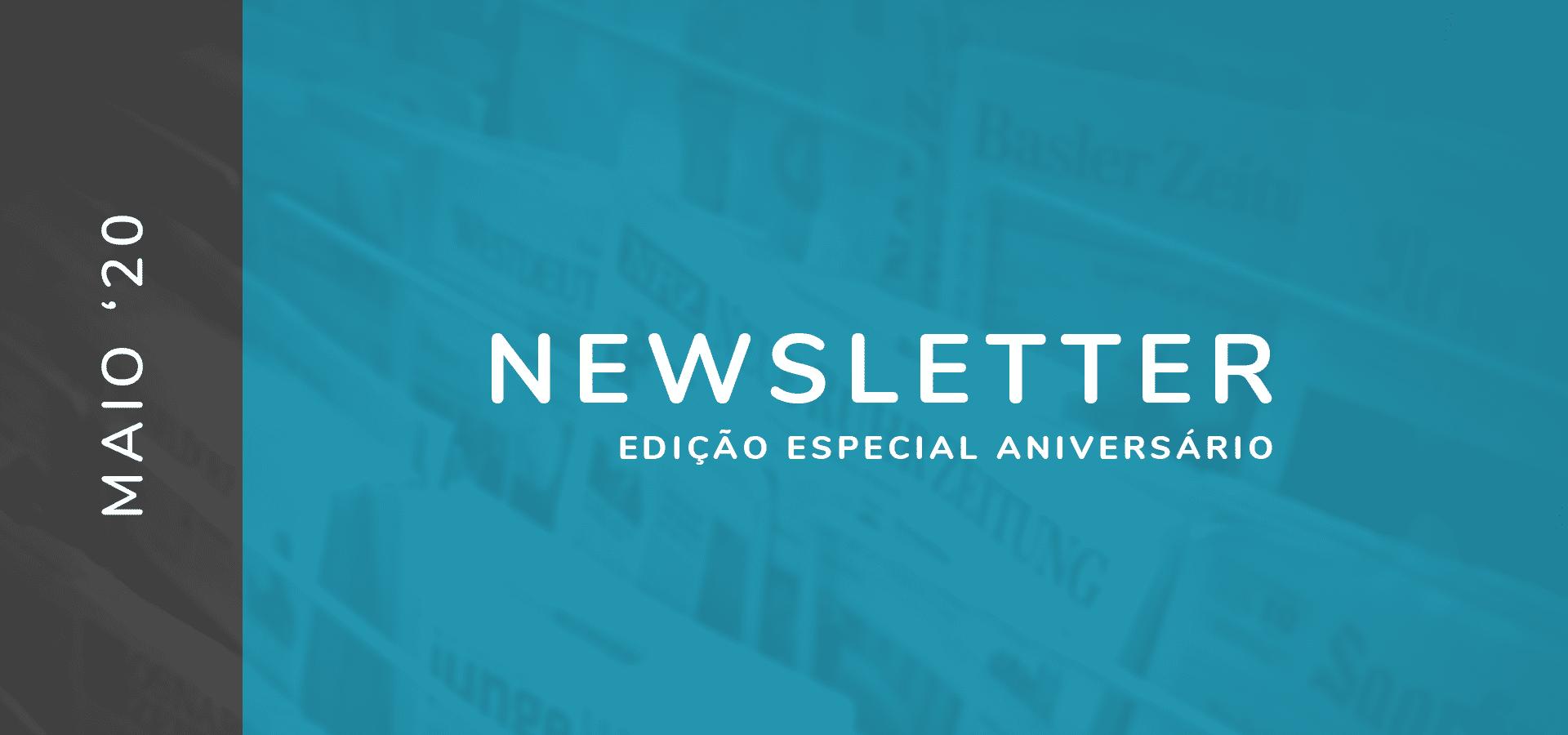 Newsletter Especial Aniversário